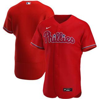 Men's Philadelphia Phillies 2020 Red Alternate Authentic Team Baseball Jersey