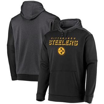 Men's Pittsburgh Steelers Black Indisputable Favorite Pullover Hoodie