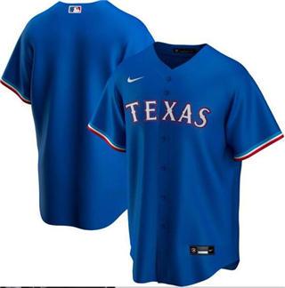 Men's Rangers Blank Royal 2020 Baseball Cool Base Jersey