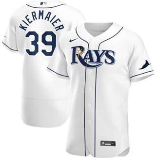 Men's Rays #39 Kevin Kiermaier White 2020 Baseball Flexbase Jersey