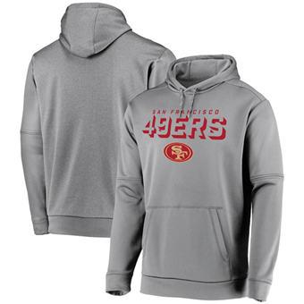 Men's San Francisco 49ers Charcoal Indisputable Favorite Pullover Hoodie