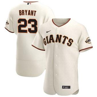 Men's San Francisco Giants #23 Kris Bryant Cream Flex Base Stitched Baseball Jersey