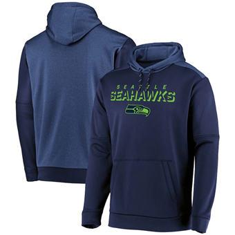 Men's Seattle Seahawks College Navy Indisputable Favorite Pullover Hoodie