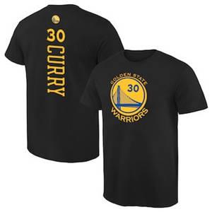 Men's Stephen Curry Golden State Warriors Backer T-Shirt - Black