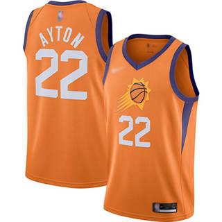 Men's Suns #22 Deandre Ayton Orange Basketball Swingman Statement Edition 2019-2020 Jersey