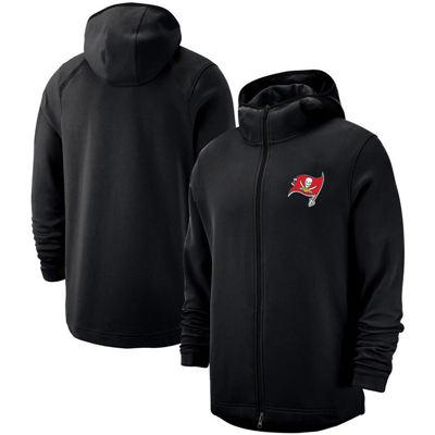 Men's Tampa Bay Buccaneers Team Logo Full-Zip Pullover Hoodie - Black