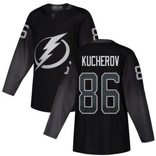 Men's Tampa Bay Lightning #86 Nikita Kucherov Black Alternate  Stitched Hockey Jersey