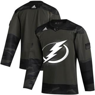Men's Tampa Bay Lightning 2019 Veterans Day Authentic Practice Hockey Jersey Camo