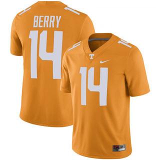 Men's Tennessee Volunteers #14 Eric Berry NCAA Jersey Tennessee Orange