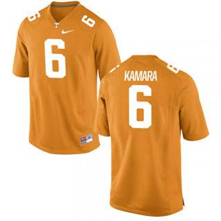 Men's Tennessee Volunteers #6 Alvin Kamara NCAA Jersey Tennessee Orange