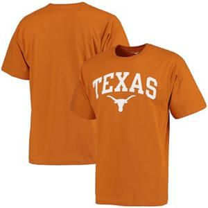 Men's Texas Longhorns Arch T-Shirt - Texas Orange