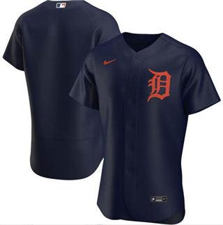 Men's Tigers #24 Miguel Cabrera Navy 2020 Baseball Flexbase Jersey
