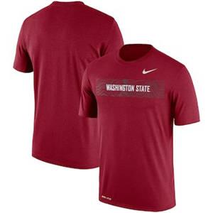 Men's Washington State Cougars  Sideline Seismic Legend Performance T-Shirt – Crimson