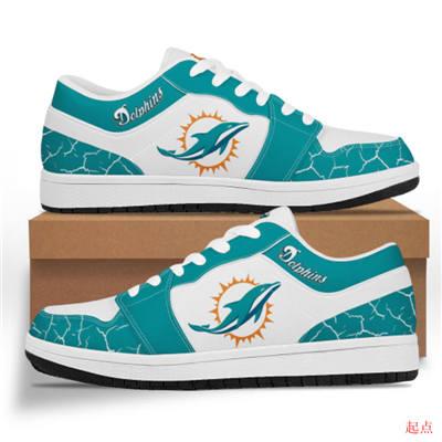 Miami Dolphins 2020 Football Team Logo Sneakers