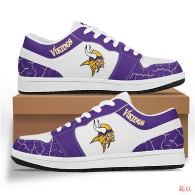 Minnesota Vikings 2020 Football Team Logo Sneakers