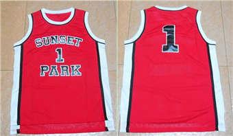 Movie Edition Jersey #1 SUNSET PARK RED jerseys