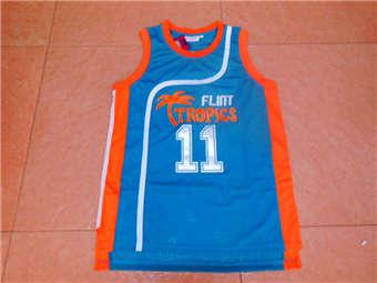 Movie Edition Jersey #11 MONIX blue mesh jerseys