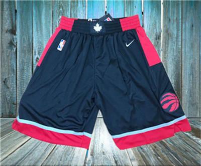Basketball Raptors Black  Swingman Shorts