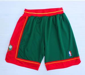 Basketball SuperSonics Green 1995-96 Hardwood Classics Shorts