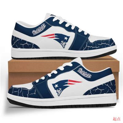 New England Patriots 2020 Football Team Logo Sneakers