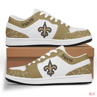 New Orleans Saints 2020 Football Team Logo Sneakers