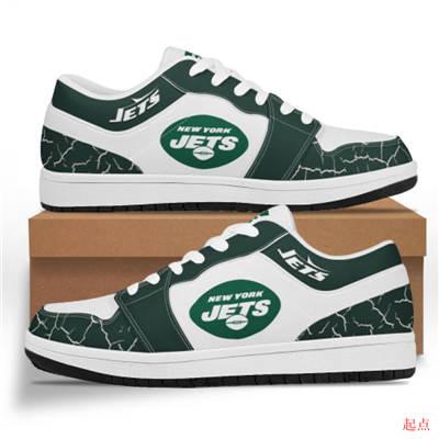 New York Jets 2020 Football Team Logo Sneakers