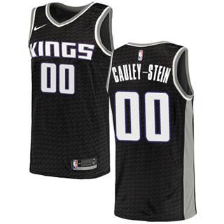 Kings #00 Willie Cauley-Stein Black Basketball Swingman Statement Edition Jersey