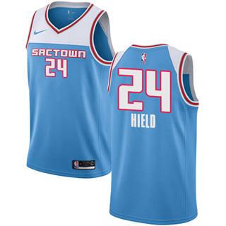 Kings #24 Buddy Hield Blue 2018-19 Swingman Basketball New City Edition Jersey