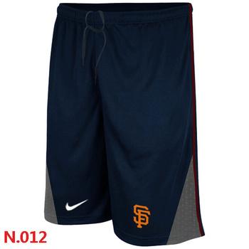 San Francisco Giants Performance Training Shorts Dark blue