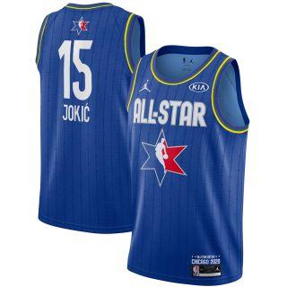 Nikola Jokic 2020 All-Star Game Swingman Basketball Jersey - Blue