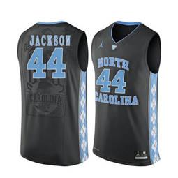 North Carolina Tar Heels #44 Justin Jackson Black College Basketball Jersey