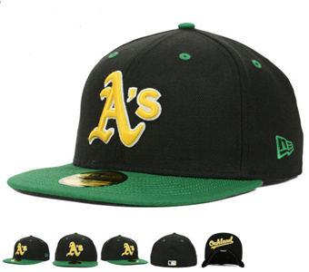 Oakland Athletics Hats-01