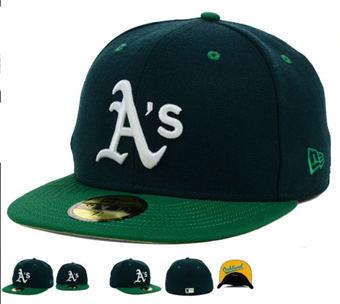 Oakland Athletics Hats-02