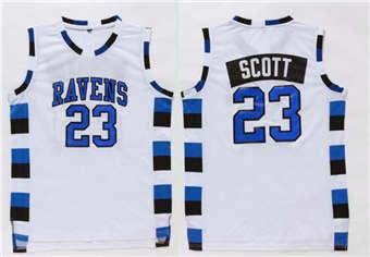 One Tree Hill movie edition jerseys #23 SCOTT White jerseys