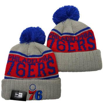 Philadelphia 76ers 2019 Team Logo Stitched Knit Hat Beanie YD