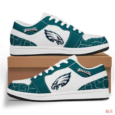 Philadelphia Eagles 2020 Football Team Logo Sneakers