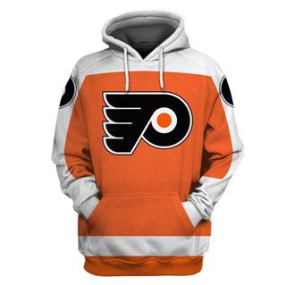 Philadelphia Flyers Orange All Stitched Hooded Sweatshirt
