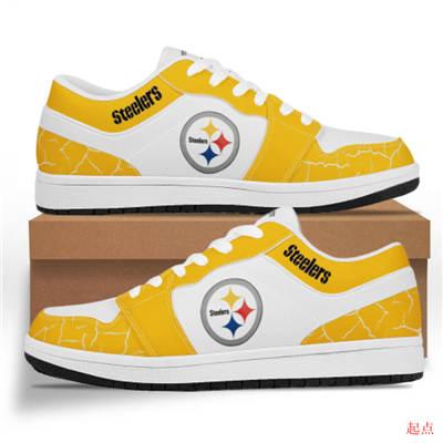 Pittsburgh Steelers 2020 Football Team Logo Sneakers