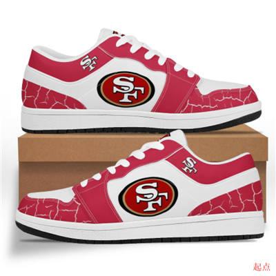 San Francisco 49ers 2020 Football Team Logo Sneakers