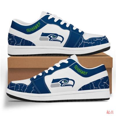 Seattle Seahawks 2020 Football Team Logo Sneakers