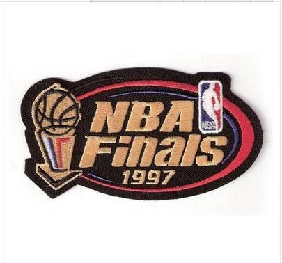 Stitched 1997 Basketball Finals Jersey Patch Chicago Bulls Utah Jazz