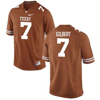 Texas Longhorns #7 Garrett Gilbert Orange  College Football Jersey