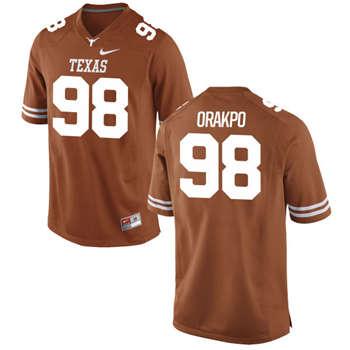 Texas Longhorns #98 Brian Orakpo Orange  College Football Jersey