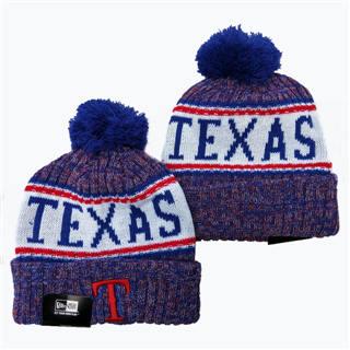 Texas Rangers 2019 Team Logo Stitched Baseball Sports Beanie Hat YD