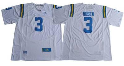 UCLA Bruins #3 Josh Rosen White Under Armour Premier Stitched NCAA Jersey
