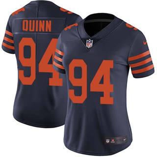 Women's Bears #94 Robert Quinn Navy Blue Alternate Stitched Football Vapor Untouchable Limited Jersey