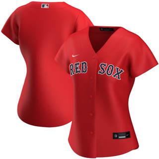 Women's Boston Red Sox Alternate 2020 Baseball Team Jersey Red