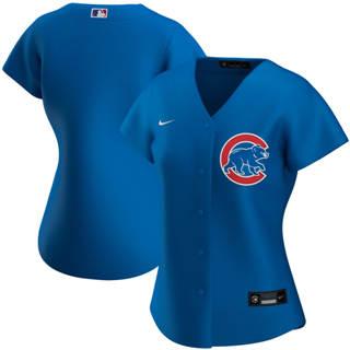 Women's Chicago Cubs Alternate 2020 Baseball Team Jersey Royal