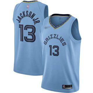 Women's Grizzlies #13 Jaren Jackson Jr. Light Blue Basketball Swingman Statement Edition Jersey
