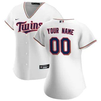 Women's Minnesota Twins 2020 Home Replica Custom Jersey - White